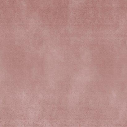 Geboortekaartje stijlvol simpele roze waterverf Achterkant