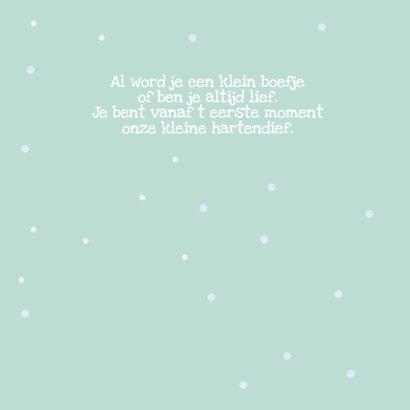 Geboortekaartje winterbos 2