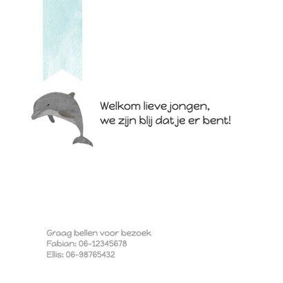 Geboortekaartjes dolfijnen 2
