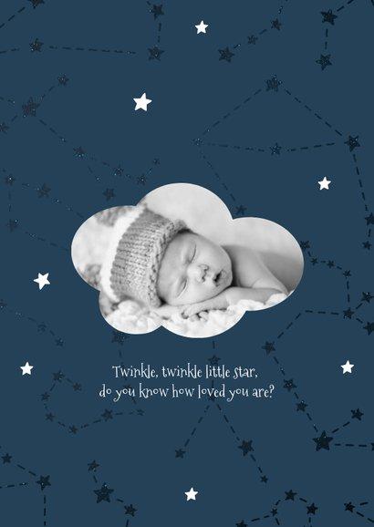 Geburtskarte Sternzeichen Jungfrau Foto innen 2
