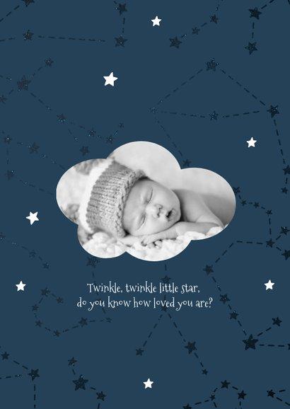 Geburtskarte Sternzeichen Löwe Foto innen 2