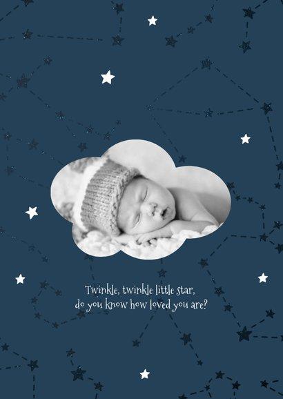 Geburtskarte Sternzeichen Skorpion Foto innen 2