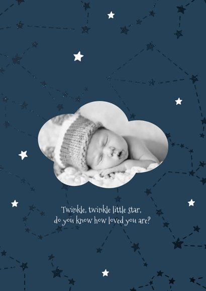 Geburtskarte Sternzeichen Steinbock Foto innen 2