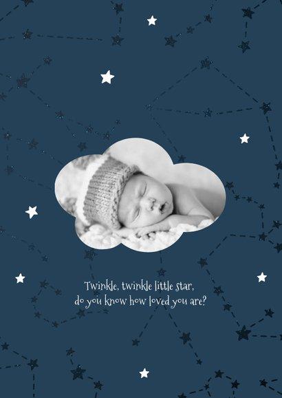 Geburtskarte Sternzeichen Widder Foto innen 2