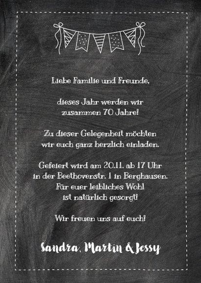 Geburtstagseinladung Dreierfeier 3