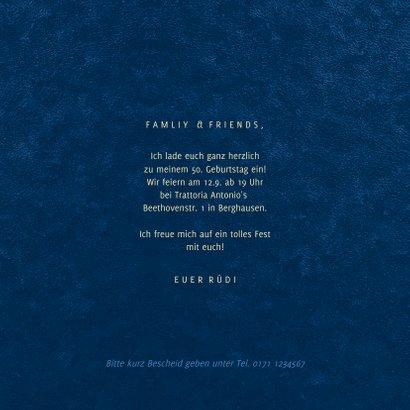 Geburtstagseinladung grafisch 'Let's party' 3