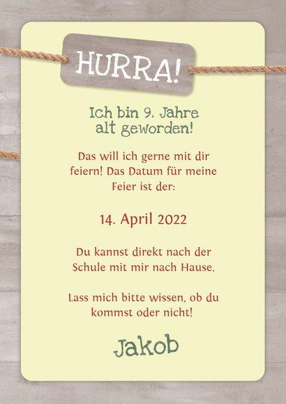 Geburtstagseinladung Kletterwald Neroberg 3