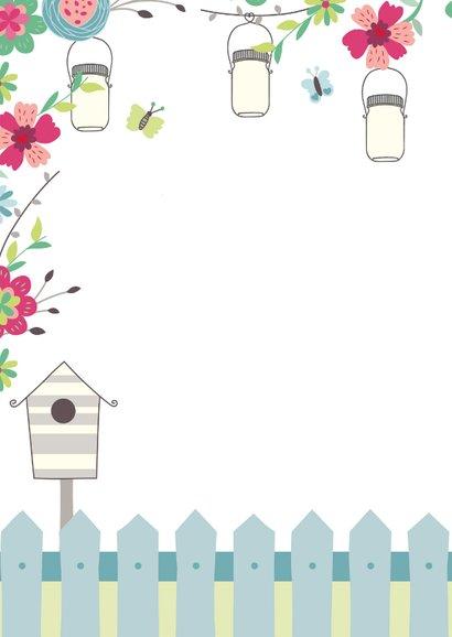 Geburtstagseinladung zum Gartenfest 2