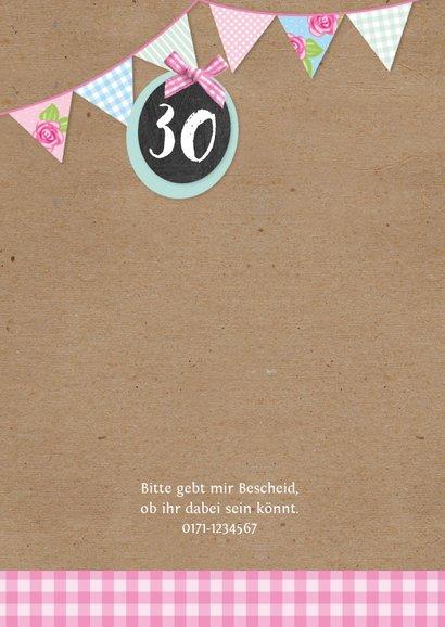 Geburtstagseinladung zum Sommerfest 2