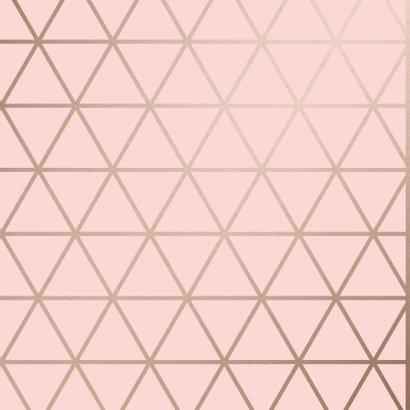Geburtstagskarte Birthday geometrisch rosa 2