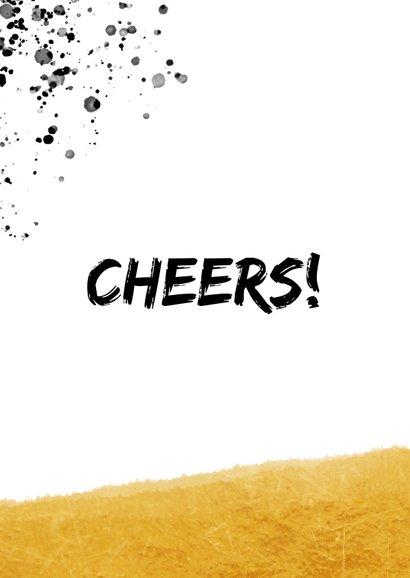 Geburtstagskarte Cheers mit Foto 2