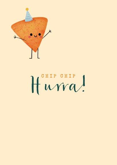 Geburtstagskarte Chip Chip Hurra 2
