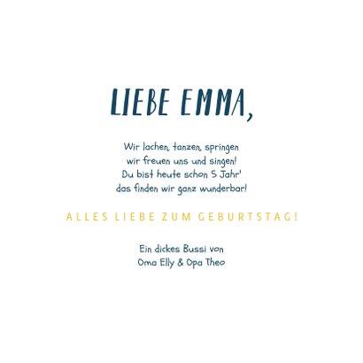 Geburtstagskarte Einhorn & Sternchen 3
