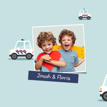 Geburtstagskarte Kinder Autos 2