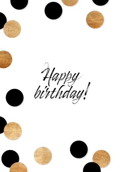 Geburtstagskarte Mit Abstand bester Geburtstag 2