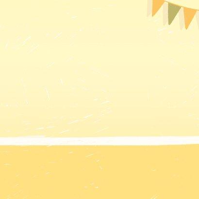 """Geburtstagskarte mit Geschenken """"Alles Gute"""" Rückseite"""