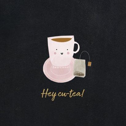 Geburtstagskarte Teetasse Cutea 2