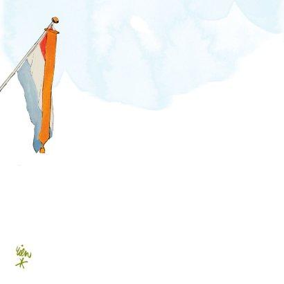 Gefeliciteerd geslaagd de vlag kan uit! 2