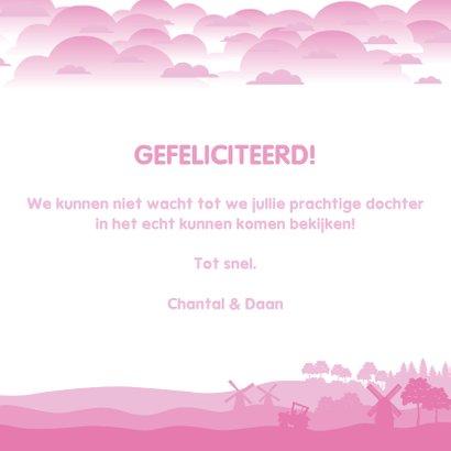 Gefeliciteerd met jullie prachtige pakketje roze 3