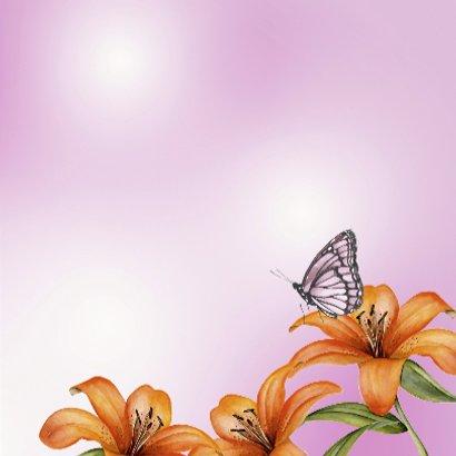 Gefeliciteerd met mooie lelies 3