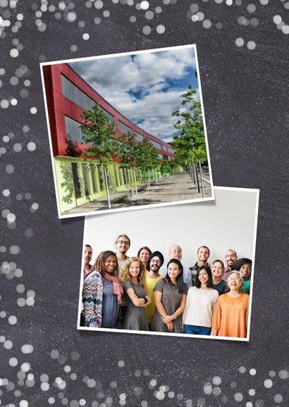 Geschäftliche Foto-Weihnachtskarte Merry Christmas 2