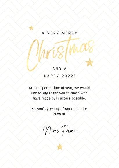 Geschäftliche Weihnachtskarte Bilderreihe schwarz-weiß 3