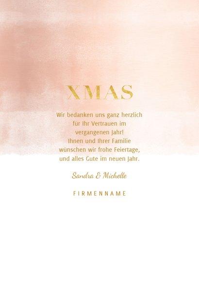 Geschäftliche Weihnachtskarte Fotocollage XMAS 3