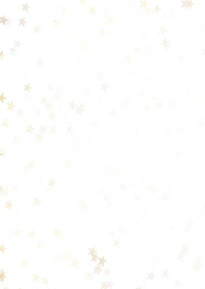 Geschäftliche Weihnachtskarte goldener Tannenbaum 2