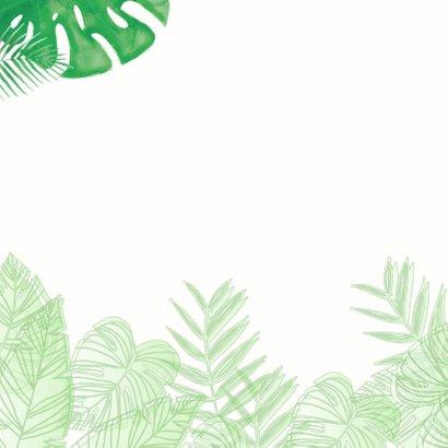 Geslaagd kaart blaadjes botanisch waterverf 2