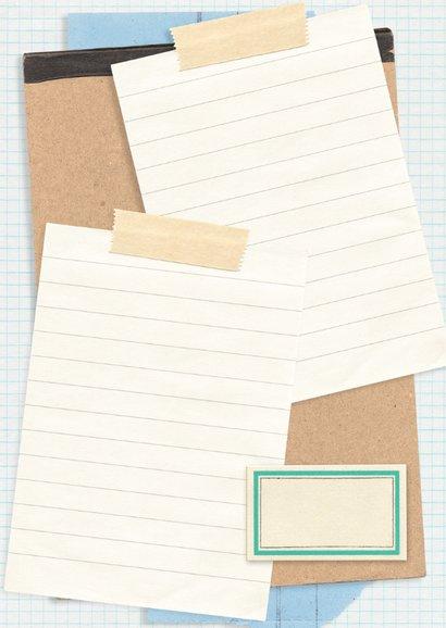 Geslaagd papieren collage 3