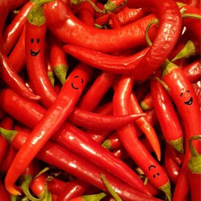 Geslaagd pittige pepers 2