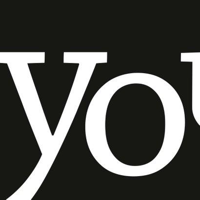 Geslaagd typografisch yes 2