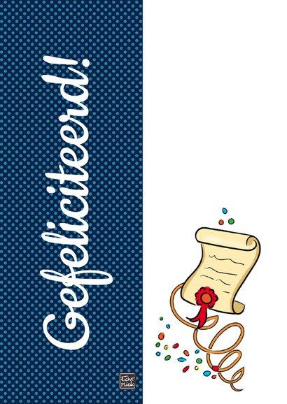 Geslaagd - You did it! 2