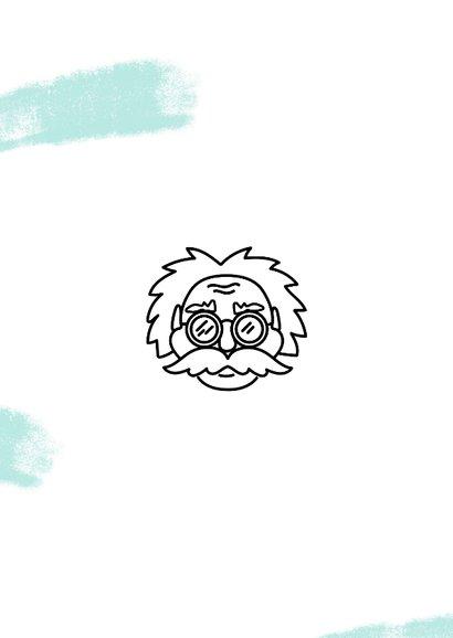 Gezakt kaartje Einstein quote succes in progress 2