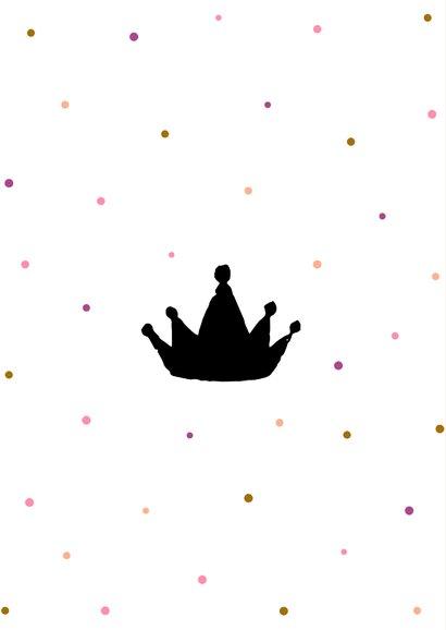 Glückwunschkarte zum 1. Geburtstag 'Miss ONEderful' 2