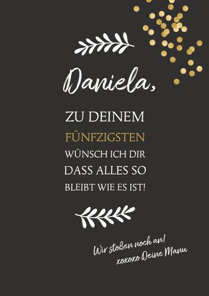 Glückwunsch zum Geburtstag Wine in the shower 3