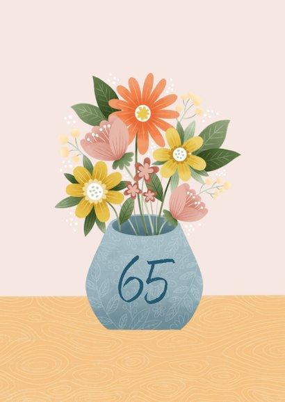 Glückwunschkarte Blumenstrauß 2
