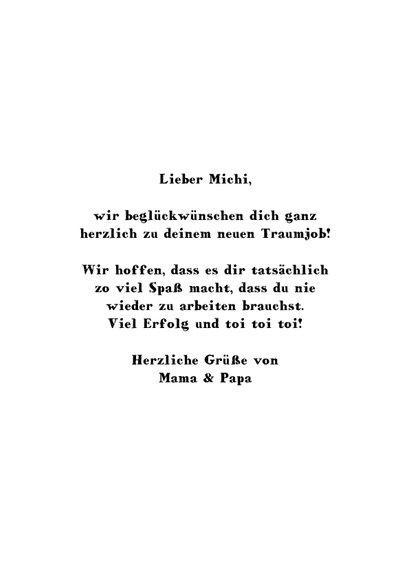 Glückwunschkarte 'Do what you love' 3