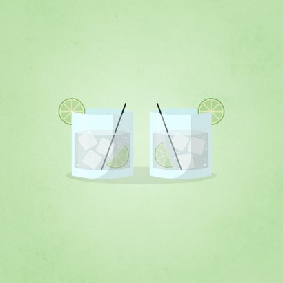 Glückwunschkarte Gin-credible birthday 2