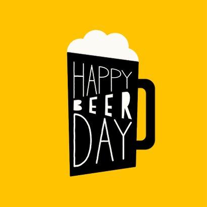 Glückwunschkarte Happy Beerday 2