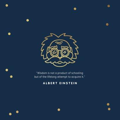 Glückwunschkarte 'smartass' Albert Einstein 2