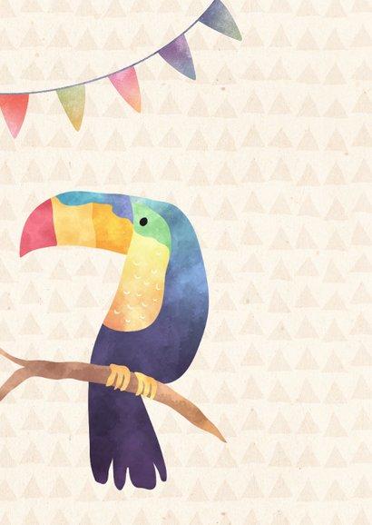 Glückwunschkarte zum Geburtstag Tropical 2