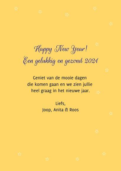 Grappig en lieve Rudolf wenst jullie een fijn en happy 2021 3