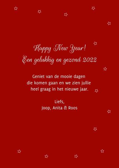 Grappig en lieve Rudolf wenst jullie een fijn en happy 2022 3