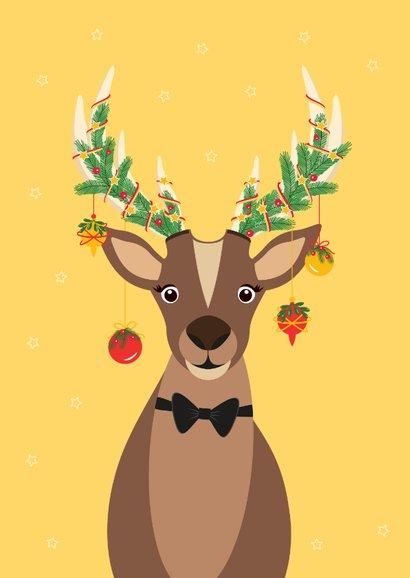 Grappig en lieve Rudolf wenst jullie fijne feestdagen 2