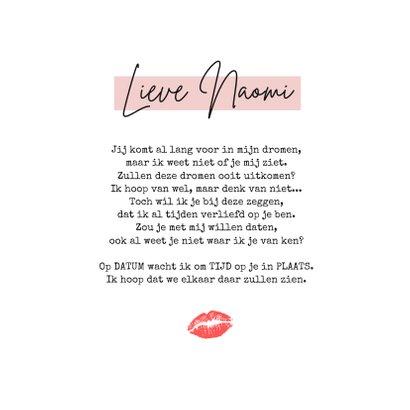 Grappige corona valentijnskaart met mondkapje en hartjes 3