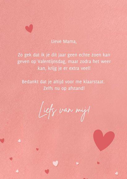 Grappige Corona valentijnskaart papieren zoen snel overdoen! 3