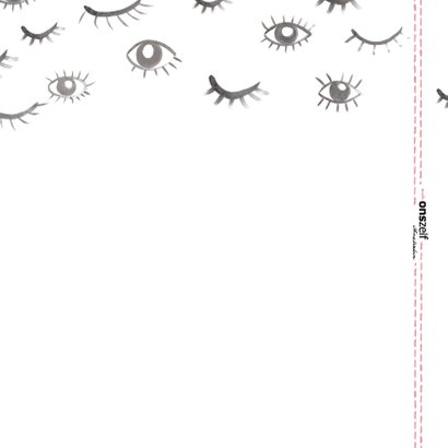 Grappige 'Eye see you' kaart met ogen.  Voor elk moment. 2