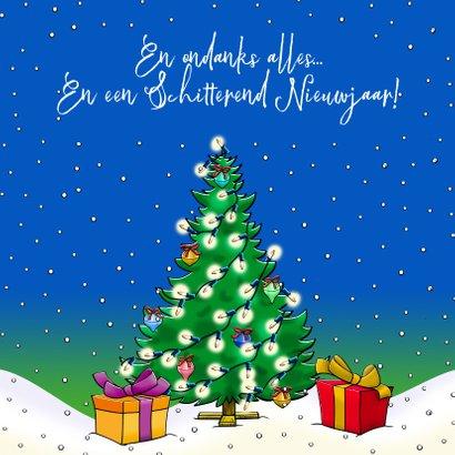 Grappige Kerst-beterschapskaart voor tijdens de feestdagen 3