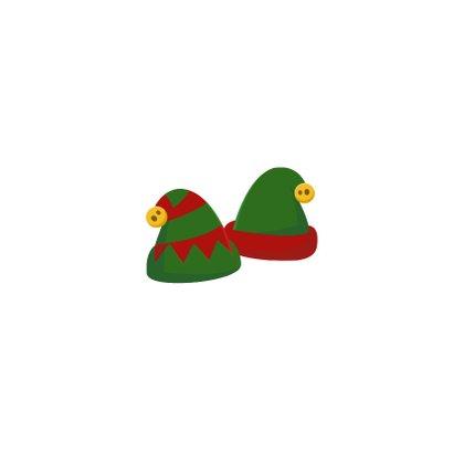 Grappige kerstkaart - Maak een Elf van jezelf - 2 personen Achterkant